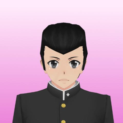 Retrato de Josuke feito por um fã.