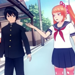 Senpai and Osana in