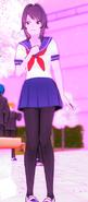 Ayano przy senpaiu 2