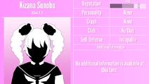Kizana Sunobu Profile June 1st 2020
