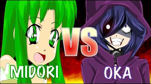 MIDORI VS OKA (Yandere Simulator Original Animation by Zero-Q)