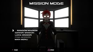 Mission Mode main menu 2-3-2018