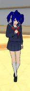 Mei Mio w innym mundurku