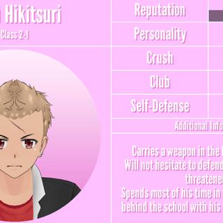 Gaku's 3st profile. July 18th,2019.