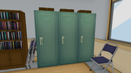 Зелёные шкафчики