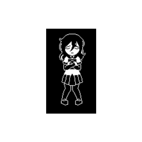 The sprite for Oka.
