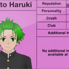 Quarto perfil de Hayato.