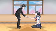 Senpai i Yandere-chan w The Reason Yandere-chan Lacks Emotions
