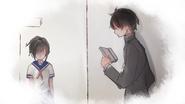 Ayano i Senpai w Yandere-chan's Childhood 1