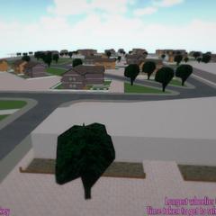 Buraza鎮的鳥瞰圖