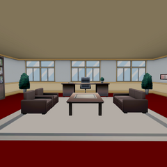 The previous Headmaster's Office. December 1st, 2016.