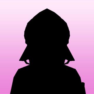 Amai's 1st silhouette portrait. March 14th, 2020.