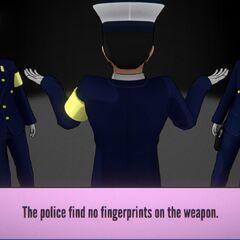No fingerprints found.