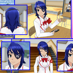 A picture collage that I made of Aoi Ryugoku! I love Aoi so much!
