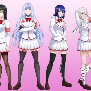 The members including Yandere-chan.