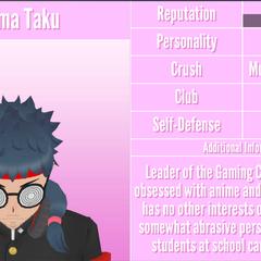 Gema's 1st profile. August 18th, 2018.