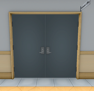 Head Master's Office's Door