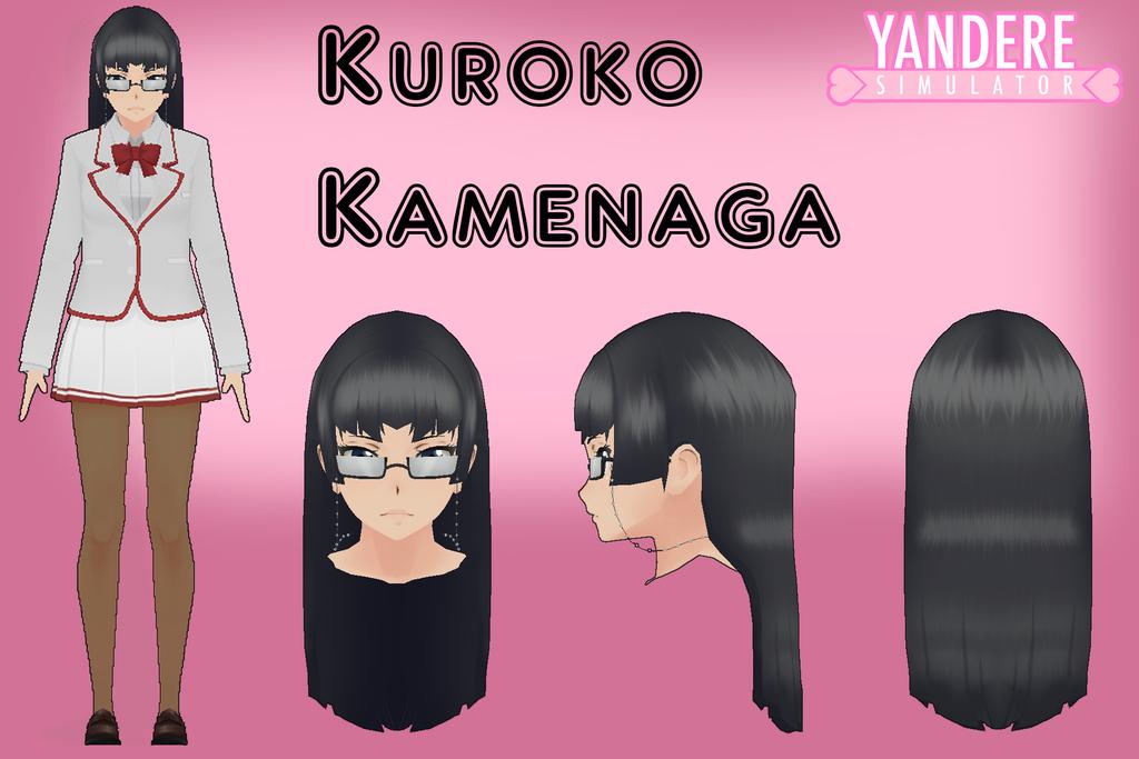 檔案:Yandere simulator kuroko kamenaga by qvajangel-dbx0wwu.png
