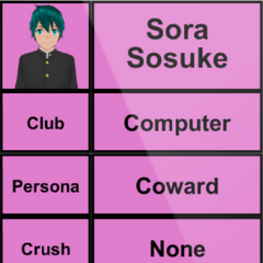 Sora's 1st profile. April 15th, 2015.