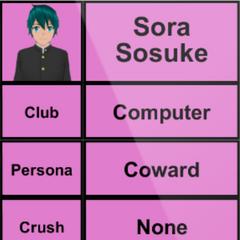 Sora的第一版個人資料 [15/04/2015]