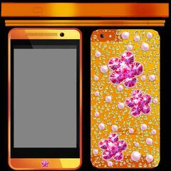 Texture of Hana's phone from the game files.