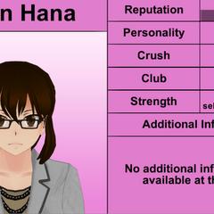 Karin Hana's 4th profile.