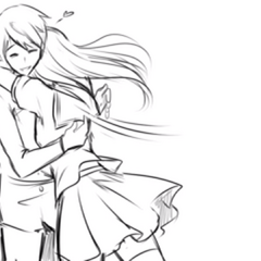 Senpai memeluk saingan dalam Promo Concept Video.