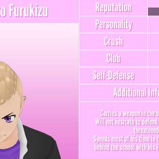 Primeiro perfil do Hokuto.