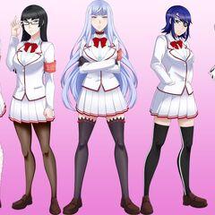 Akane和其他學生會成員