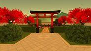 Японский сад вход