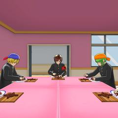 學生在烹飪研究社社室 [08/18/2018]