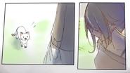 Ayano zauważyła kotka