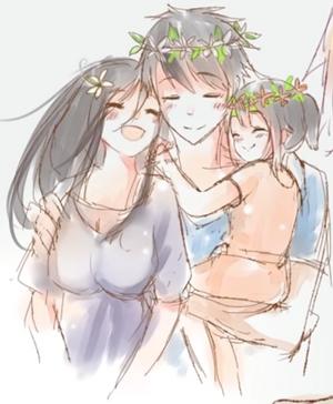 Szczęśliwa rodzina Aishi