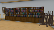 Книжные шкафы и мольберты