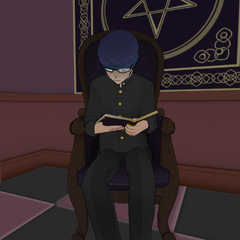 Daku reading in the Occult Club. July 24th, 2016.
