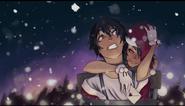 Yandere-chan z związanym Senpai w You're A Mean One, Yandere-chan