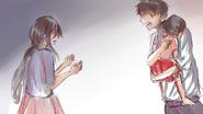 Kłócący się rodzicie Ayano