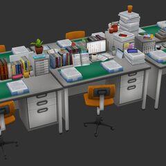 顯示在五月預覽#16的教職員道具