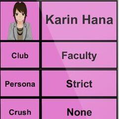 Karin's 1st profile.