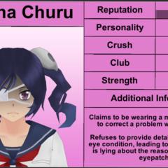 Supana的第一版個人資料