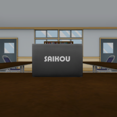 The Saikou laptop inside the Student Council Room. January 15th, 2016.