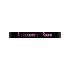 Announcement Room <a href=
