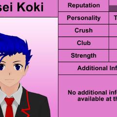 Oitavo perfil de Ryusei.