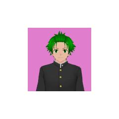 Terceiro retrato de Hayato.