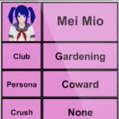 Segundo perfil de Mei.