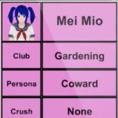 Mei的第二版個人資料