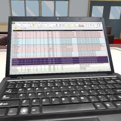 Genka筆記型電腦的畫面