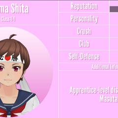 Shima's 9th profile. November 24th, 2019.