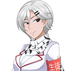Shiromi's official bust illustration.