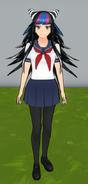 Yan chan włosy ibuki